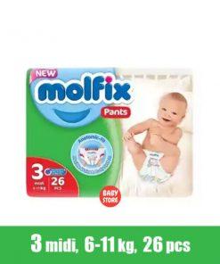 Molfix Baby Diaper Pants (26pcs)