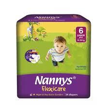 Nannys Baby Diaper Belt 6 Junior Plus (24pcs)