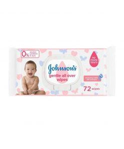 Johnson's Extra Sensitive Baby Wipes (72pcs)