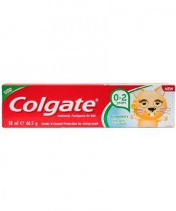 Colgate Baby Strawberry Toothpaste (0-2 years) (50ml)