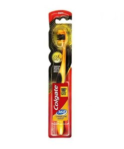 Colgate Charcoal Gold 360 Toothbrush