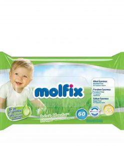 Molfix Baby Lotion Wet Wipes (60pcs)