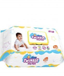 Savlon Twinkle Baby Wipes (120pcs)