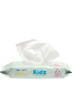 Kidz Cotton Baby Wet Wipes (56pcs)
