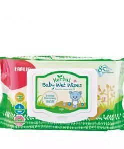 Farlin Baby Herbal Wet Wipes (Skin Care) (85pcs)