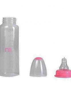 Mother care Baby Standard Neck Bottle (Pink) (250ml)