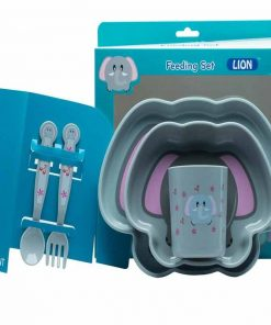 Lion Feeding Set