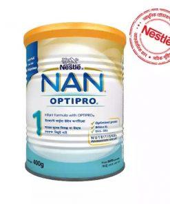 Nestlé NAN OPTIPRO 1 Infant Formula Milk Powder Tin (400gm)