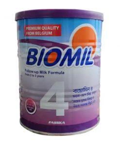 Biomil 4 Follow-Up Milk Formula Powder Tin (400gm)