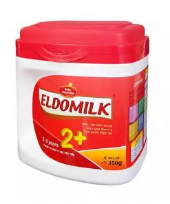 Eldomilk2 + Growing Up Milk Powder Jar (350gm)
