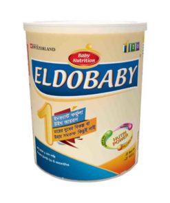 Eldobaby 1 Infant Formula With Iron Tin (0-6 Months) (400gm)