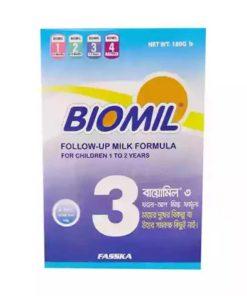 Biomil 3 Follow-Up Milk Formula Powder (1-2 Years) (180gm)