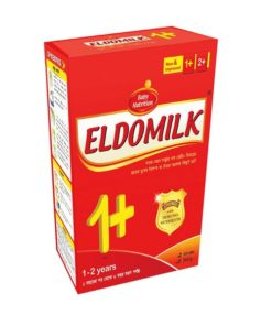 Eldomilk1+ Growing Up Milk Powder BIB (1-2 Years) (350gm)