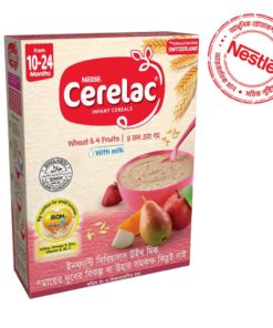 Nestlé Cerelac 3 Wheat & 4 Fruits (10 month +) BIB (400gm)