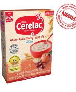 Nestlé Cerelac 2 Apple & Cherry Baby Food BIB (8 Months+) (400gm)
