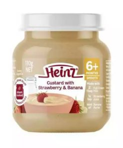 Heinz Custard With Strawberry and Banana (110gm)