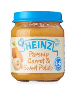 Heinz Carrot & Sweet Potato (110gm)