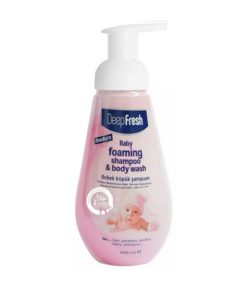 Deep Fresh Baby Foam Pink Girl Shampoo (400ml)