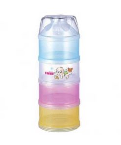 Farlin Baby Milk Powder Container Mixed Colour 4 layer