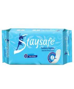 F2 Staysafe Regular Flow Non Wings 240 mm (Panty) Sanitary Napkin (15pcs)