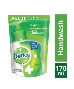 Dettol Original Liquid Hand Wash Refill (170ml)