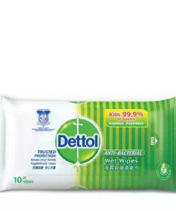 Dettol Anti Bacterial Wet Wipes (10pcs)