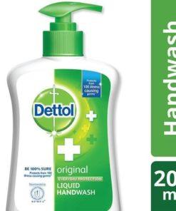 Dettol Handwash Original Liquid Soap Pump (200ml)