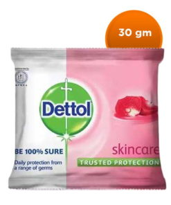 Dettol Soap Skincare Bathing Bar Soap (30gm)