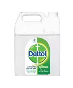 Dettol Antiseptic Liquid (Brown) Single Pack (5ltr)
