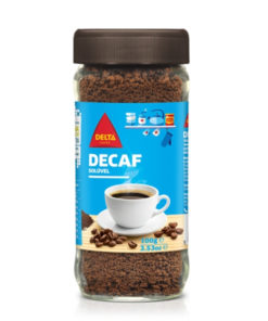 Delta Decafe Caffaine Free Instant Coffee Jar (100gm)