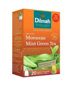 Dilmah Ceylon Moroccan Mint Green Tea (40gm)