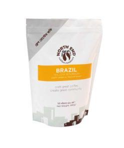 North End Brazil Ground Coffee (450gm)