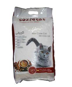 Coziecat Premium Cat Litter Coffe Clumping (10ltr)