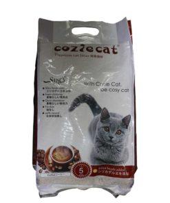 Coziecat Premium Cat Litter Coffe Clumping (5ltr)