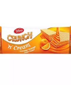 Tiffany Crunch 'n' Cream Orange Wafers (76gm)