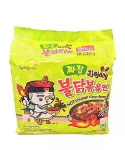 Samyang Jjajang Hot Chicken Noodles (600gm)