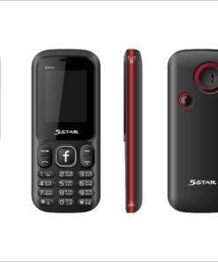 5 STAR BD180 Feature Phone Dual SIM 800mAh Battery