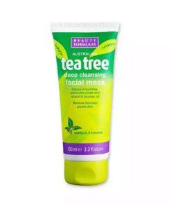 Beauty Formulas Tea Tree Facial Mask (100ml)