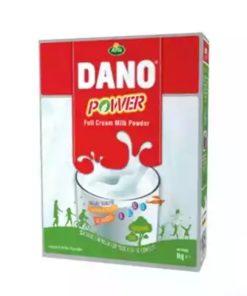 Dano Power Full Cream Milk Powder Box (1kg)